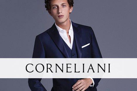 Corneliani, marque de vêtements pour hommes dans les magasins Transfert man, Rennes, Nantes et Vannes