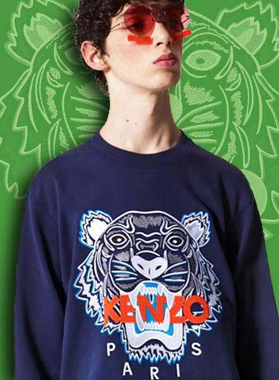 Kenzo, vêtements pour hommes dans les magasins Transfert Man à Rennes, Nantes et Vannes.