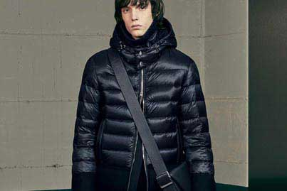 Moncler, marque de vêtement pour homme dans les magasins Transfert man, Rennes, Nantes et Vannes