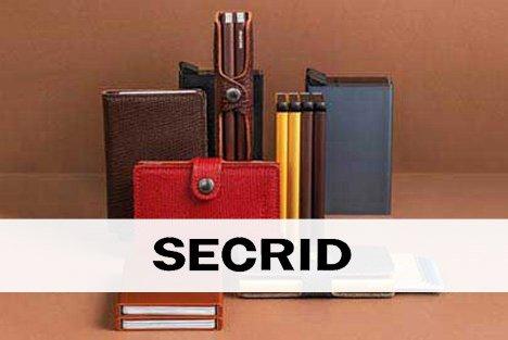 Secrid, marque de porte-cartes de protection dans les magasins Transfert man, Rennes, Nantes et Vannes.