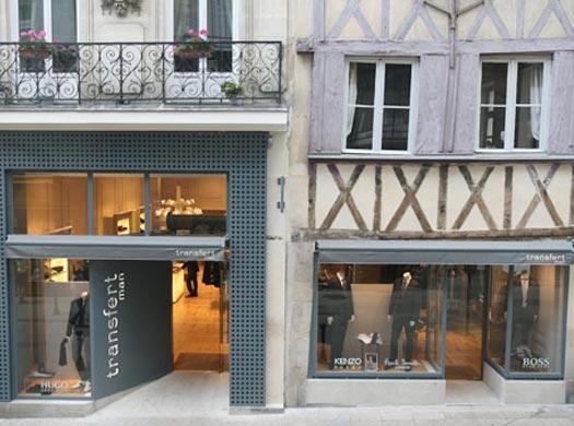 Transfert man - 4, rue de la fosse 44000 Nantes - magasin de vêtement pour homme.