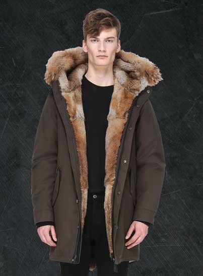 Mackage, marque de manteaux pour hommes, parka - magasins Transfert man, Rennes, Nantes et Vannes.