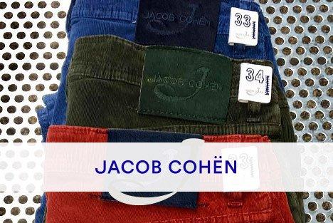 Jacob Cohen, retrouvez la marque dans les boutiques transfert man
