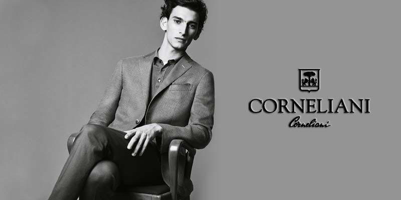 Présentation marque Corneliani - Transfert man