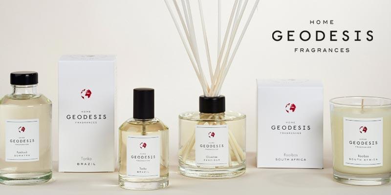 Geodesis, marque de fragrances, bougies, parfums... - Transfert man