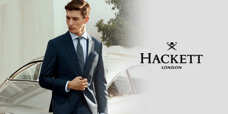 Hackette, marque de vêtements pour hommes.