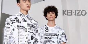 Marque de vêtements Kenzo pour homme.