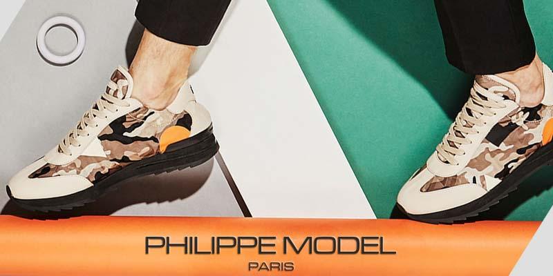 Retrouvez la marque de chaussure Philippe Model dans les boutique Transfert man