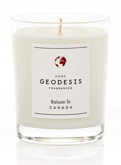 Bougie au parfum Balsam - Géodesis