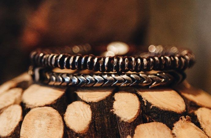 Bracelets design de la marque M. Cohen