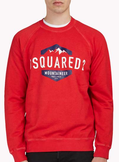 Sweatshirt col rond, manches longues.