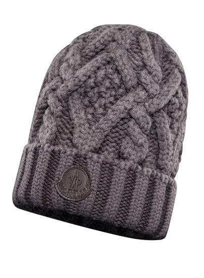 Bonnet tressé en laine – Moncler