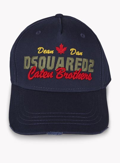 Casquette de Baseball «Caten Brothers» – Dsquared2