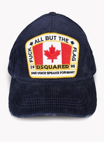 Casquette de Baseball «Corduroy Canada» – Dsquared2