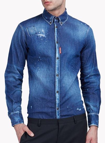Chemise en Jeans «Denim Shirt» – Dsquared2