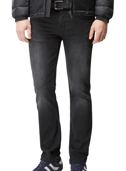 Jeans noir profond signé BOSS Orange Homme.