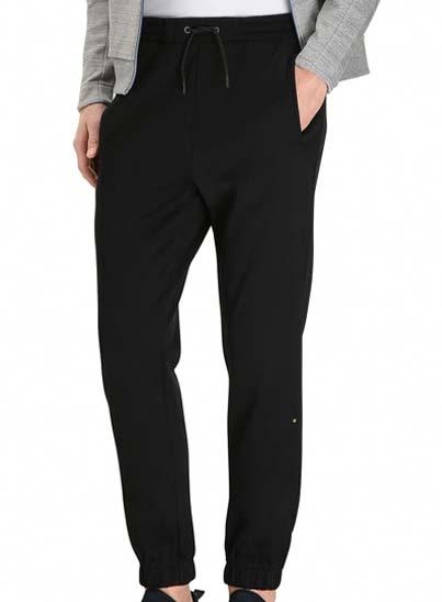 Pantalon de jogging pour homme, en coton mélangé double face.