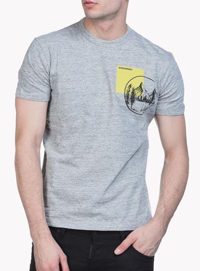 T-shirt «Mountain Dan » – Dsquared2