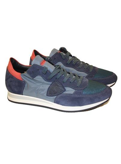 Chaussure, Semelle de couleur de bloc en caoutchouc.
