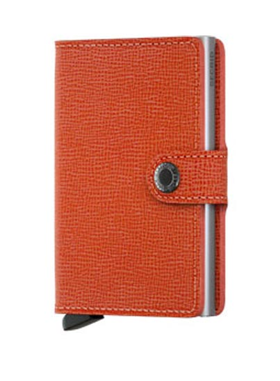 "Porte-cartes ""Crisple orange"" miniwallet"