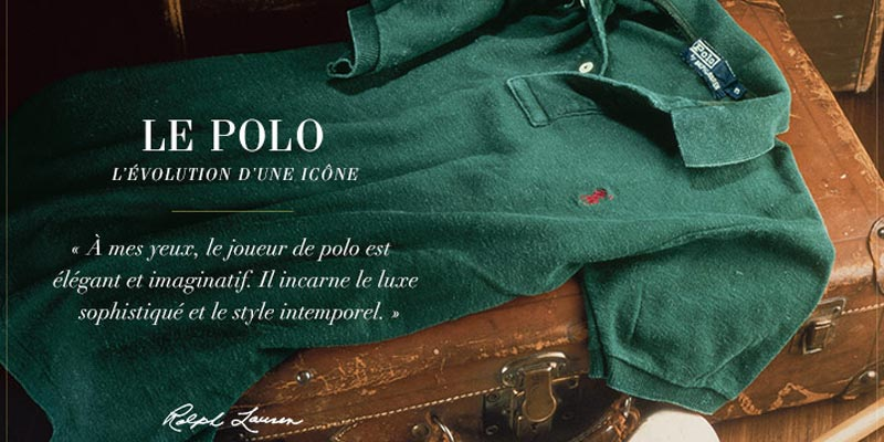 Présentation marque Ralph Lauren - Transfert man.