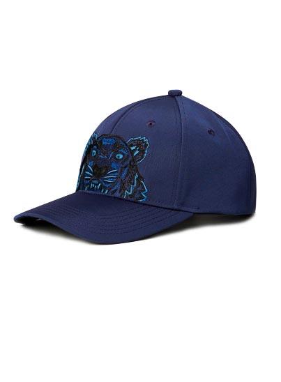 Casquette broderie Tigre sur le devant et logo KENZO.