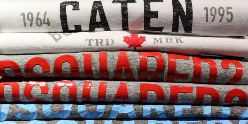 Dsquared2, marque de vêtements, T-shirt, jeans...
