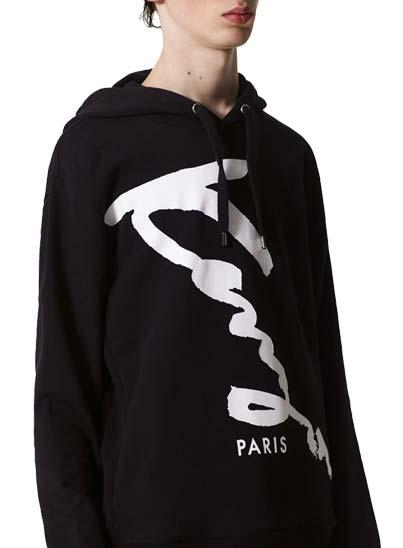 Sweatshirt Kenzo en coton à capuche pour homme.