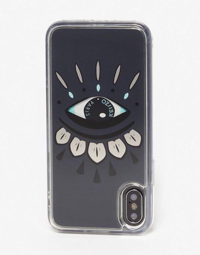 Coque Kenzo pour iPhone, Coque légère avec couche en résine.