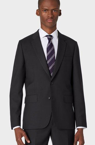 Costume Paul Smith Homme A Suit To Travel In' Noir En Laine Coupe Ajustée