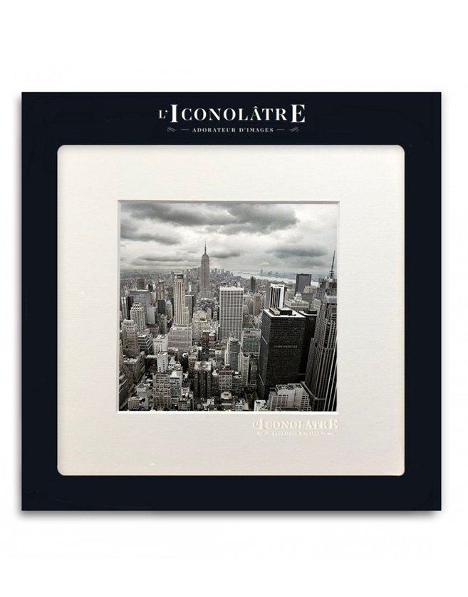 Photo aérienne de New York. Format carré inspiré des réseaux sociaux.