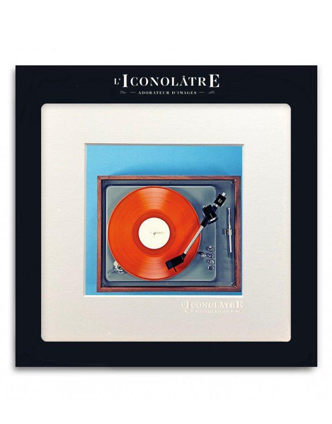 Photo esprit vintage des platines vinyle de la grande époque, et leur modernité intemporelle.