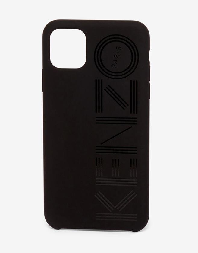 Coque iPhone, logo KENZO Paris au dos.