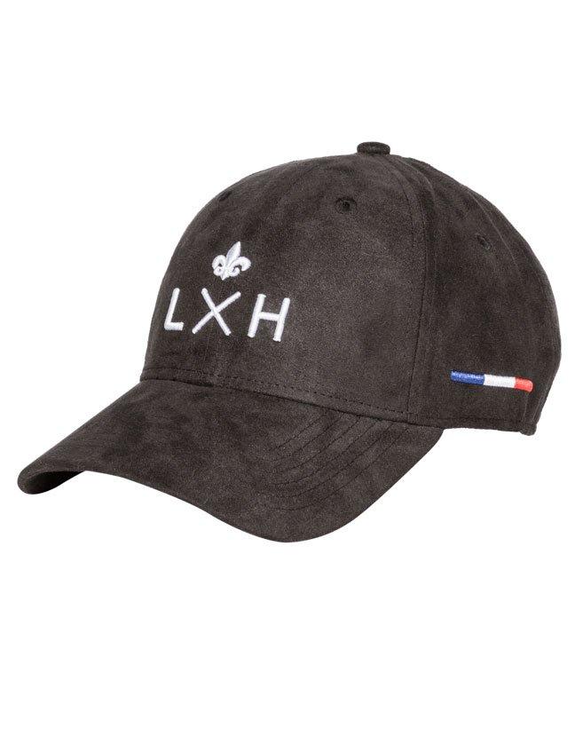Casquette LXH Monte-Carlo, logo LXH brodé en 3D. Ajustable de 54 cm à 63 cm.