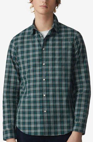 Cette chemise Kenzo slim parfait un look décontracté. Son motif à carreaux en fait une pièce unique et facile à associer.