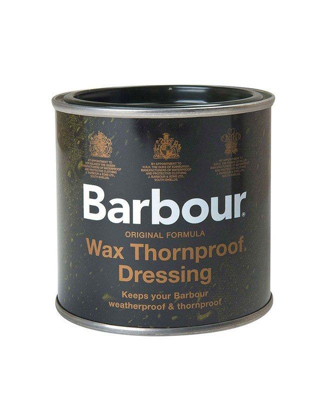 Traitement qui restaure la fonctionnalité imperméable des veste Barbour Wax.