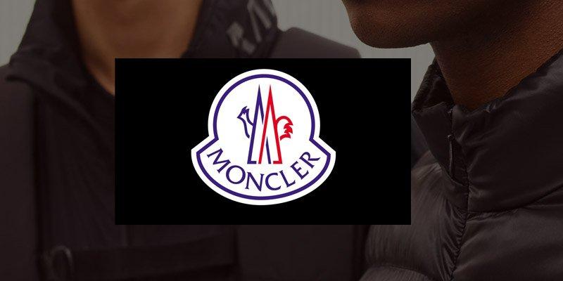 Présentation marque Moncler, blouson, doudounes, cardigan, sweatshirts, polos, bonnets, écharpes, baskets... - Transfert man.